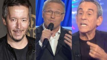 Jean-Luc Lemoine, Laurent Ruquier et Thierry Ardisson