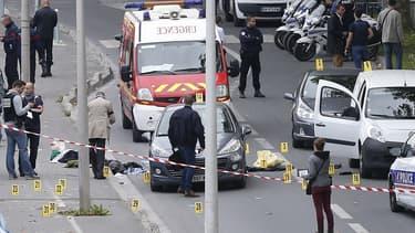 C'est ici, sur l'Île-Saint-Denis, qu'a eu lieu lundi une fusillade entre malfaiteurs et policiers