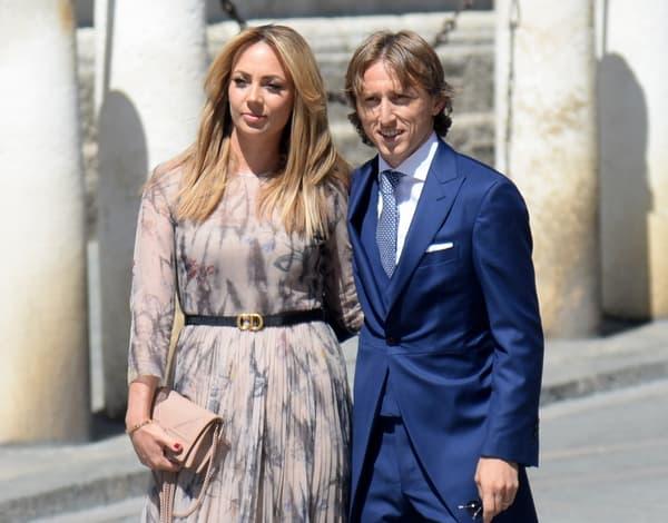 Luka Modric et sa compagne