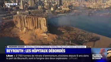"""Beyrouth: """"Pour résister, on a besoin de donations parce qu'on ne peut plus compter sur l'État"""", déclare le directeur médical de l'hôpital Hôtel-Dieu"""