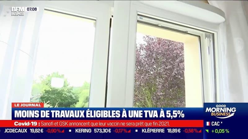 Remplacement de fenêtres, isolation ... ces travaux de rénovation énergétique ne seront peut-être bientôt plus éligibles à une TVA à 5,5%