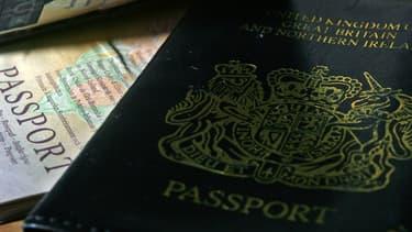 Un passeport britannique