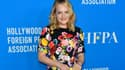 Elisabeth Moss le 2 août au Hollywood Foreign Press Association's Grants Banquet à Beverly Hills.