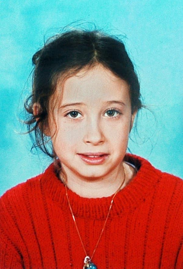 La photo d'Estelle Mouzin utilisée pour l'avis de recherche émis en 2003.