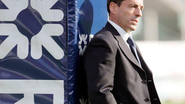 Le manageur du Racing n'apprécie pas les propos de son homologue de Clermont, Jean-Marc Lhermet