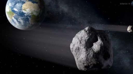 L'astre de 45 mètres de diamètre et de 135.000 tonnes passera à 27.000 km de notre planète.