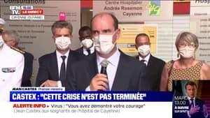 """Jean Castex en Guyane: """"Cette crise sanitaire n'est pas terminée"""""""