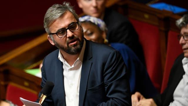 Alexis Corbière à l'Assemblée nationale le 16 janvier 2018.