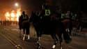 Des affrontements ont eu lieu samedi soir, à Tottenham, dans le nord de Londres entre des policiers et quelque 200 personnes qui protestaient contre la mort d'un homme de 29 ans tué jeudi lors d'un échange de coups de feu avec des forces de l'ordre. /Phot
