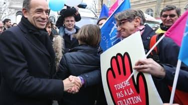 Jean-François Copé, le président de l'UMP, avait participé en 2013 à des manifestations de la Manif pour tous