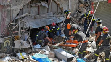 10 jours après l'explosion, les secouristes recherchent désormais les corps des victimes toujours portées disparues. (illustration)