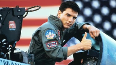 """""""Top Gun"""", avec Tom Cruise, était sorti dans les salles en 1986"""