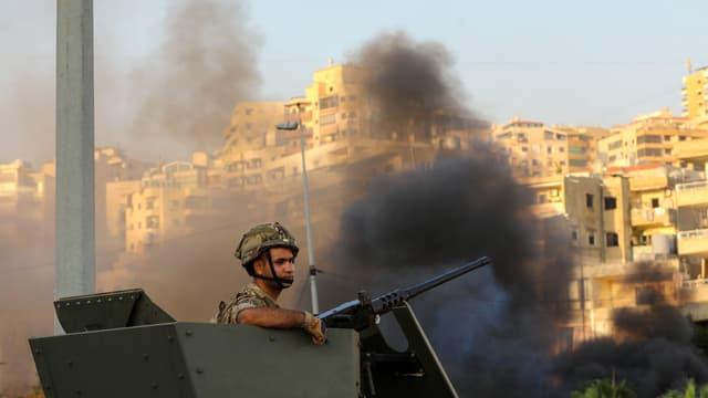 L'armée à été contrainte d'intervenir
