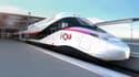 """La SNCF a présenté son """"TGV du futur""""."""