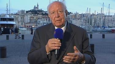 Jean-Claude Gaudin s'en est pris à son adversaire socialiste Patrick Mennucci, notamment sur le cas Guérini.