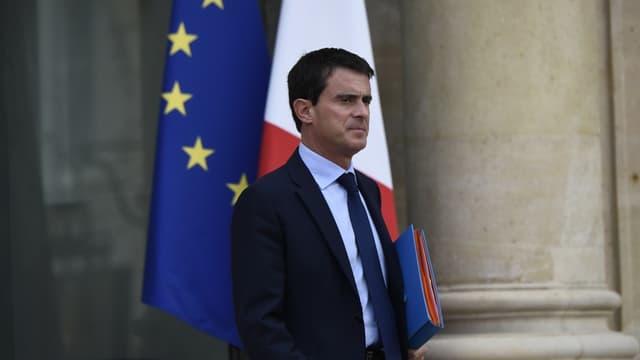 Manuel Valls, Premier ministre