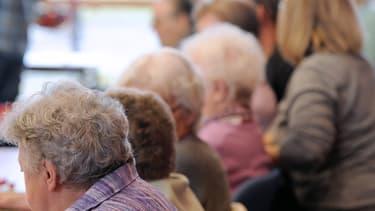 Photo d'illustration - Personnes âgées dans un Ehpad de Lens (Pas-de-Calais)