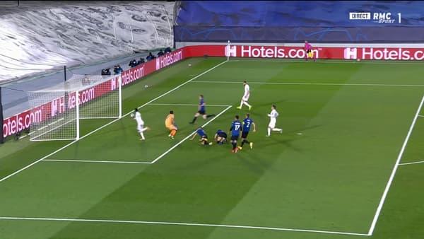 L'action de Vinicius à la 52e minute de Real-Atalanta
