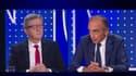 Jean-Luc Mélenchon et Eric Zemmour débattent sur BFMTV, le 23 septembre 2021.