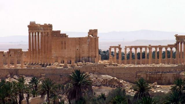 C'est dans ce théâtre de Palmyre qu'a eu lieu une macabre mise en scène de l'Etat islamique.