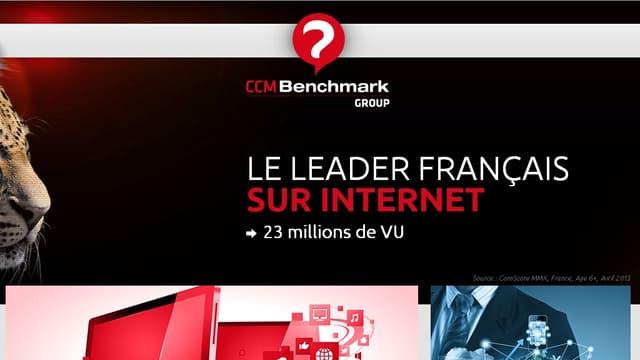 CCM Benchmark est le huitième groupe internet français