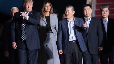La dernière apparition de Melania Trump remonte au 10 mai quand elle a accompagné son mari pour accueillir des prisonniers américains libérés de Corée-du-Nord.