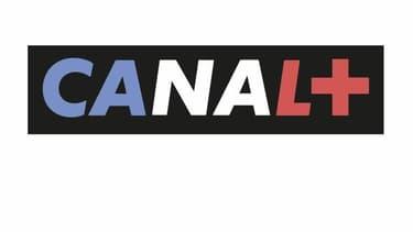 Le logo de Canal+ habillé du drapeau tricolore.