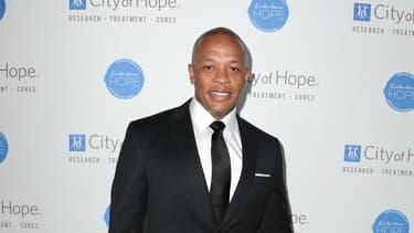 Dr Dre invité d'un gala en Californie en 2014.