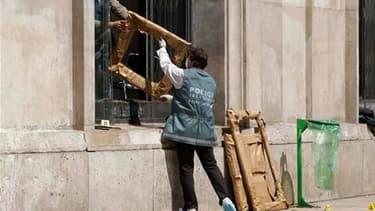 Cinq tableaux de Pablo Picasso, Fernand Léger, Henri Matisse, Georges Braque et Amedeo Modigliani ont été dérobés au Musée d'art moderne de la ville de Paris, le montant du préjudice étant évalué par le musée à 500 millions d'euros. /Photo prise le 20 mai