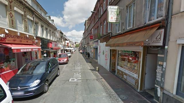 """La rue Jules-Guesde, à Lille, est le théâtre d'une """"insécurité permanente"""" selon certains commerçants."""