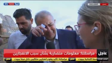 Le gouverneur de Beyrouth le 4 août, après les explosions qui ont ravagé la ville.