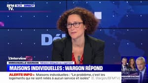 """Emmanuelle Wargon sur les maisons individuelles: """"Je comprends très bien que certains Français écoutant cette polémique aient pu être choqués"""""""