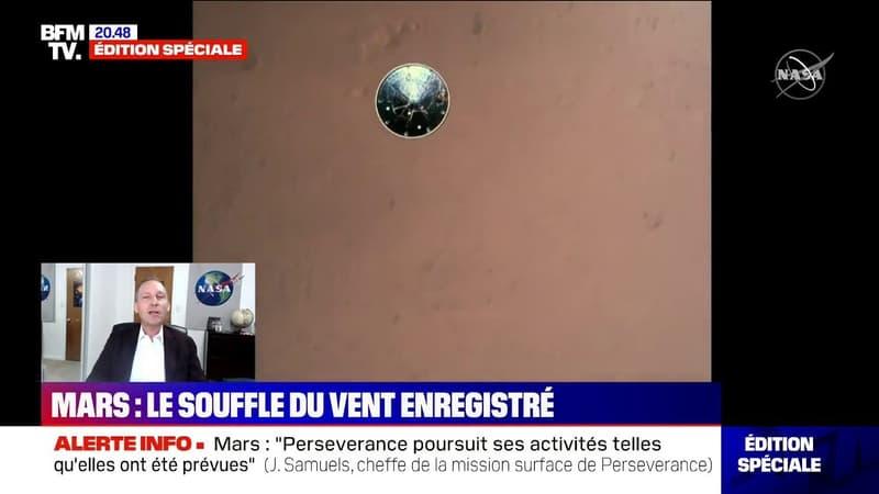 """Thomas Zurbuchen (NASA) sur Perseverance: """"C'est le résultat d'une décennie de travail"""""""