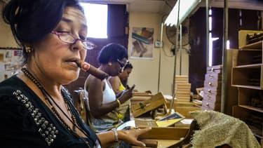 Les fabriques de cigares cubaines sont un des pôles touristiques de l'île.