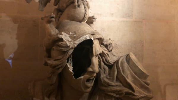 Le moulage de La Marseillaise du Rude sera visible à la restauration