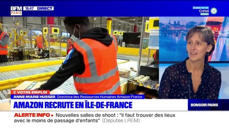C votre emploi Paris: Amazon recrute en Île-de-France - 15/09