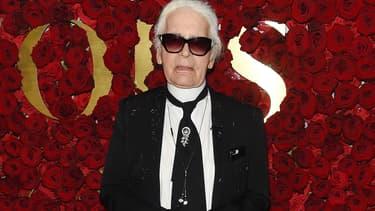 Karl Lagerfeld à New York en 2017