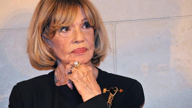 Jeanne Moreau le 6 février 2008 à Paris.