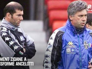 Juve: Comment Zidane a profondément changé Ancelotti