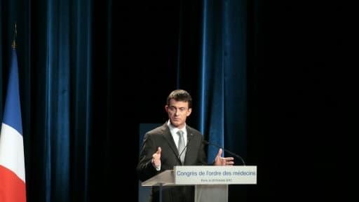 Manuel Valls à Paris, le 29 octobre 2015