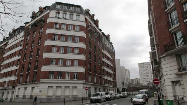 Un immeuble HLM dans le XVe arrondissement de Paris