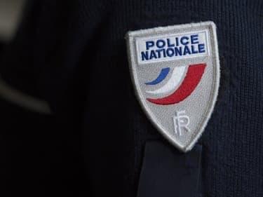 Un écusson de la police nationale (image d'illustration)