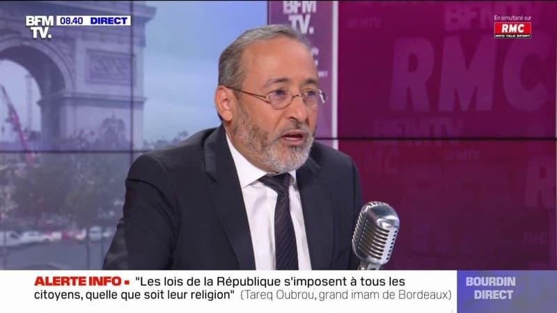 Regarder la vidéo Tareq Oubrou, grand imam de Bordeaux revient sur l'abattage rituel en Islam