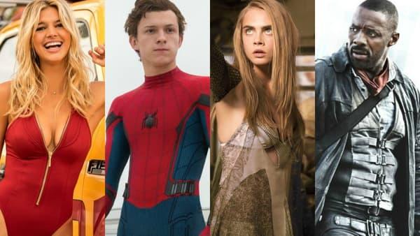 """""""Baywatch - Alerte à Malibu"""", """"Spider-Man: Homecoming"""", """"Valérian et la cité des mille planètes"""", La Tour sombre"""" sortiront dans les salles obscures cet été"""