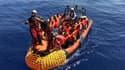 Le navire humanitaire Ocean Viking a secouru ce lundi 105 migrants dans les eaux internationales au large de la Libye.