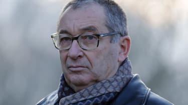 Éric Mouzin à Guermantes, le 13 janvier 2018.