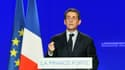 Le candidat Sarkozy en campagne, avril 2012.