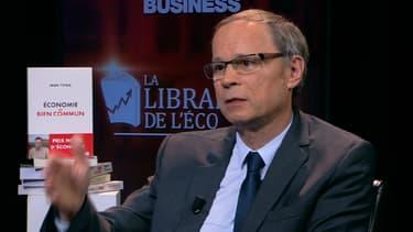"""Jean Tirole a présenté son livre """"Économie du bien commun"""" sur BFM Business."""