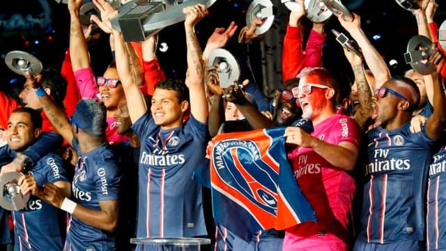 Le PSG remet son titre de champion de France en jeu