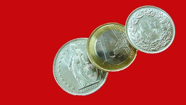 L'euro perd du terrain face à la devise helvétique